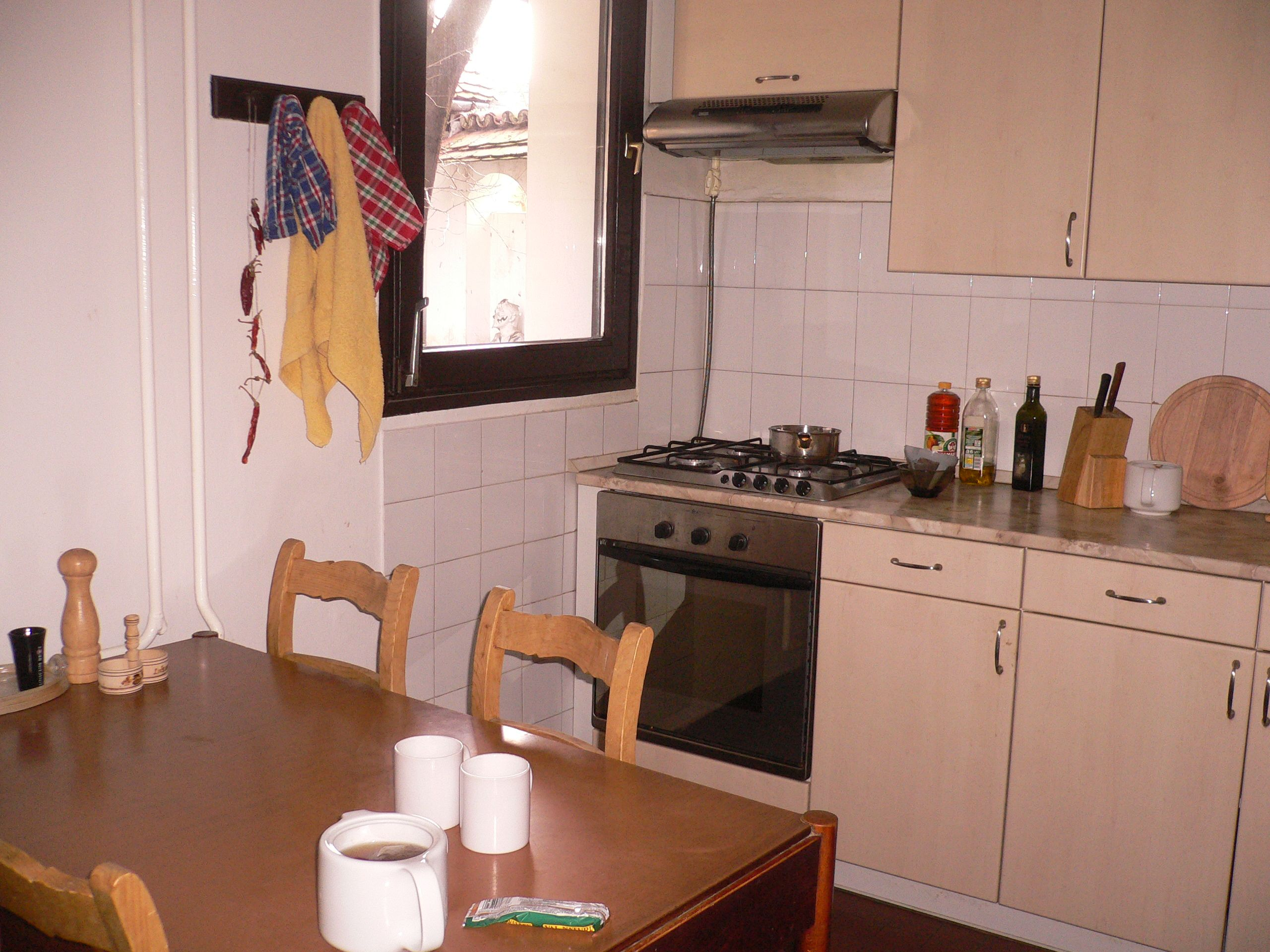 The kitchen for artists and day-staff