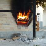 The fire box