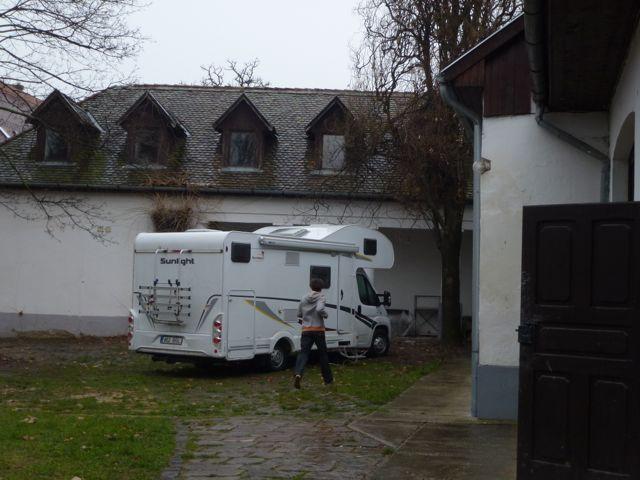 The caravan from Estonia
