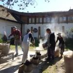 First raku firing