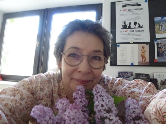 my 29th wedding anniversary with lilacs..
