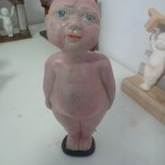 A baby from the gas kiln