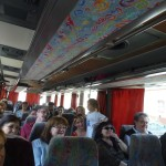 The ICS  on our way to the exhibition in Budapest