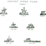 Images of ancient ridge tiles