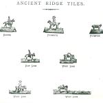 Images of ancient ridge tiles
